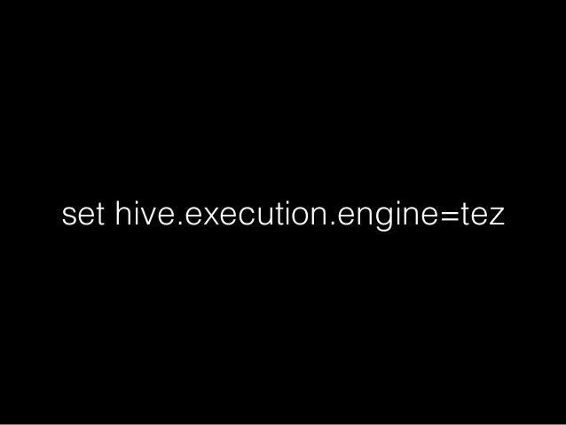 set hive.execution.engine=mr