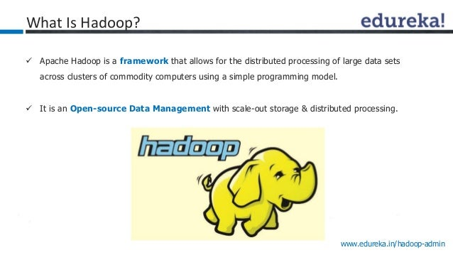 Hadoop Cluster Administration Course: Guide for Hadoop ...