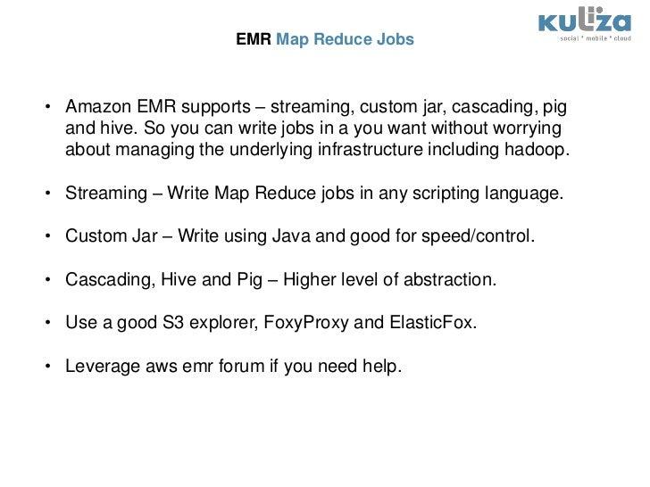 Big Data and Hadoop in Cloud - Leveraging Amazon EMR