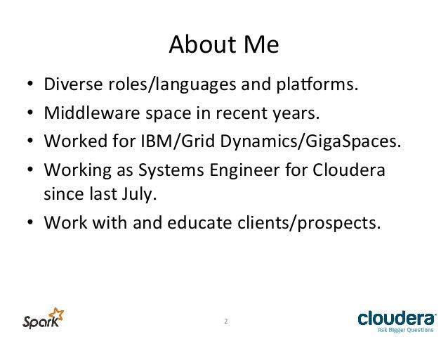 Hadoop and Spark Slide 2