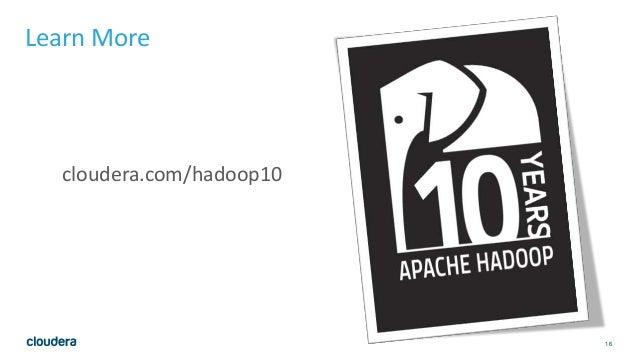 Apache Hadoop at 10