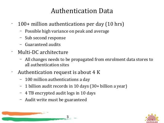 Hadoop at aadhaar Slide 3