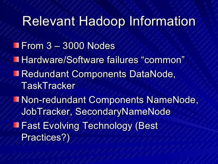 Hadoop Monitoring best Practices Slide 2