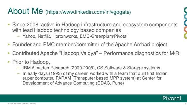 Hadoop configuration & performance tuning Slide 3