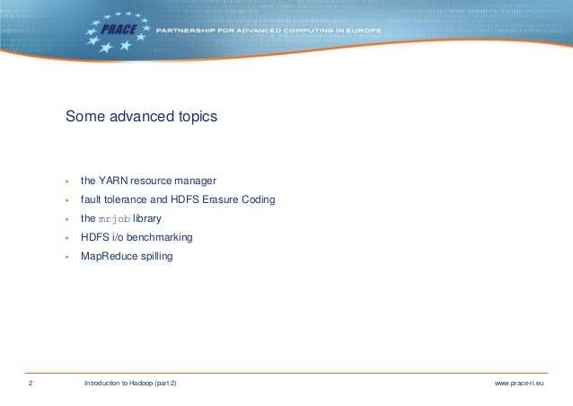 Introduction to Hadoop part 2 Slide 2