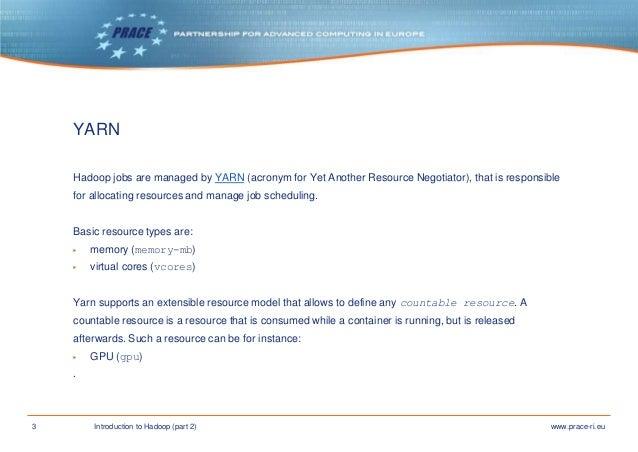 Introduction to Hadoop part 2 Slide 3
