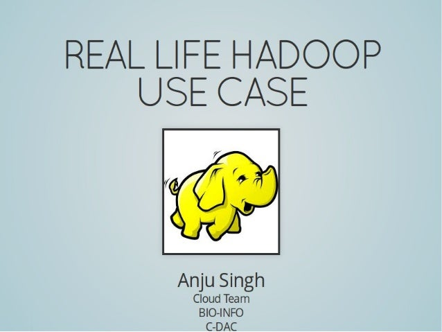 Hadoop Real Life Use Case & MapReduce Details