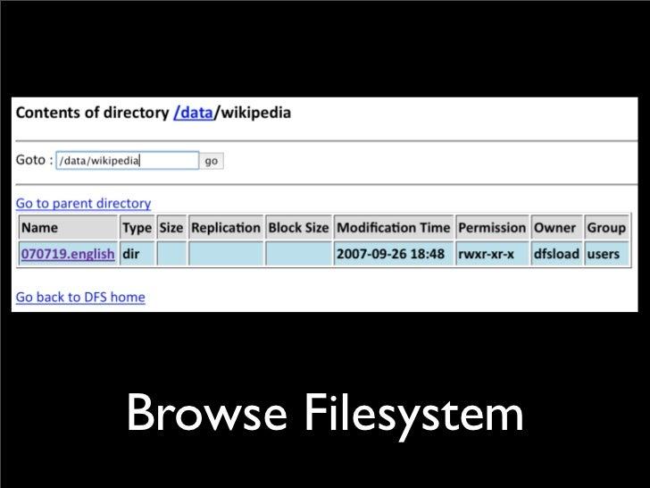 Browse Filesystem