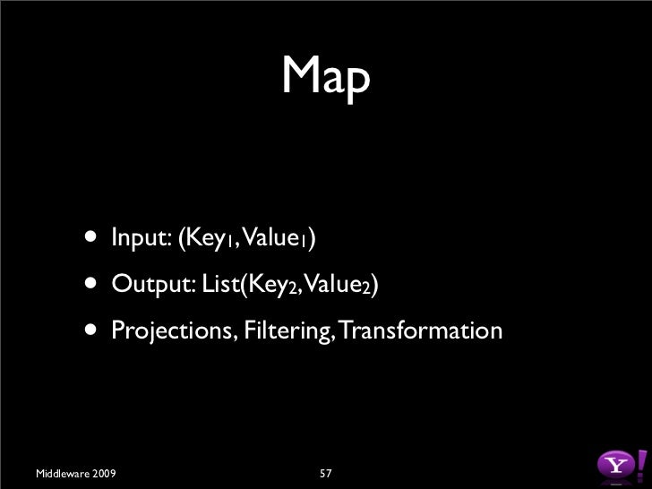 Shuffle          • Input: List(Key ,Value )                          2         2          • Output          • Sort(Partitio...