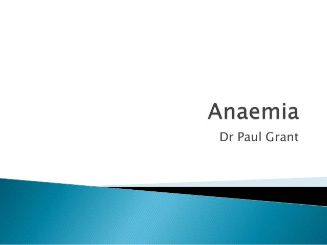 Dr Paul Grant