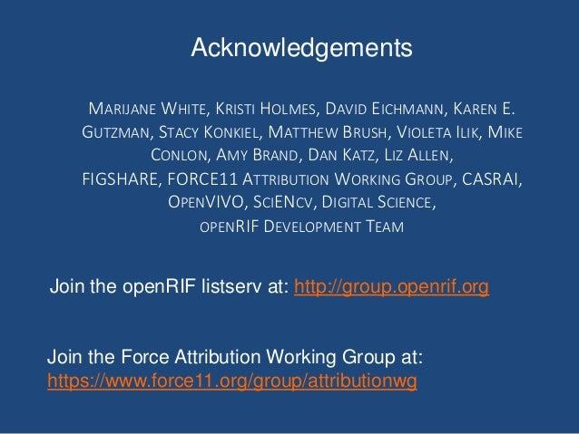 Acknowledgements MARIJANE WHITE, KRISTI HOLMES, DAVID EICHMANN, KAREN E. GUTZMAN, STACY KONKIEL, MATTHEW BRUSH, VIOLETA IL...