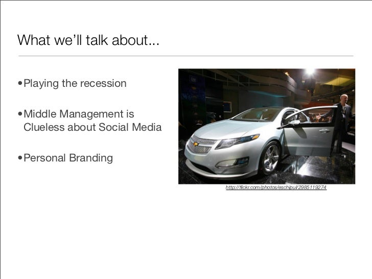 Playing the recession - tips for advertisers and the Millennials that work there Slide 2