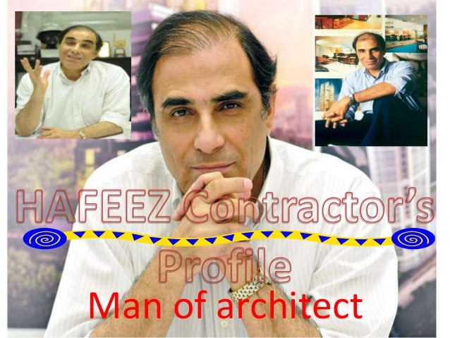 Man of architect
