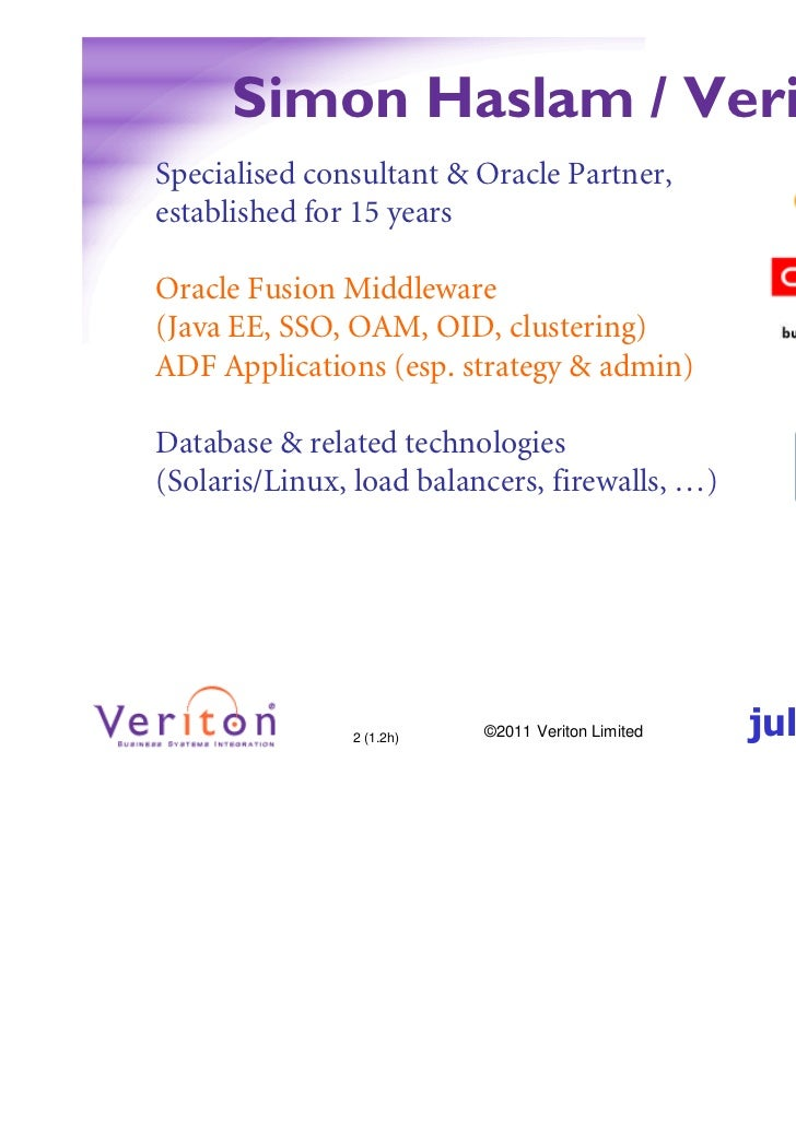 High Availability Options for Modern Oracle Infrastructures Slide 2