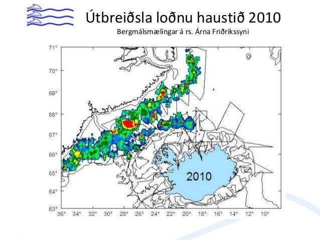 Útbeiðslumörk sumar- og haustgöngu veiðistofns loðnu 1978-2012