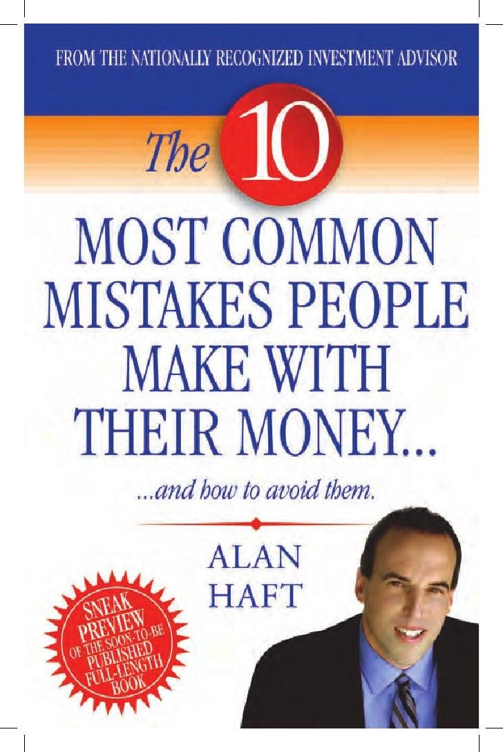 Ten Common Mistakes