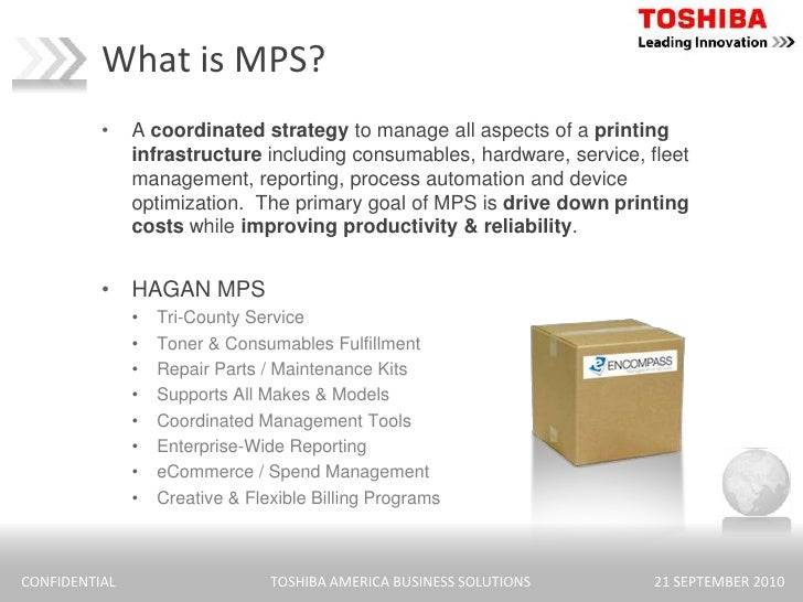 What Is Mps >> Cost Per Page Mps Presentation 11 10 09