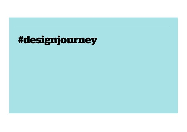 #designjourney