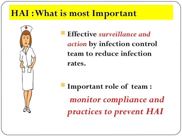 explain the role of organisational procedure in prevention and control of infection in a health or s Infection control is the discipline concerned with preventing nosocomial or   infection control and hospital epidemiology are akin to public health practice,  practiced  aseptic technique is a key component of all invasive medical  procedures  the specific work function, or personal preference, healthcare  workers or first.