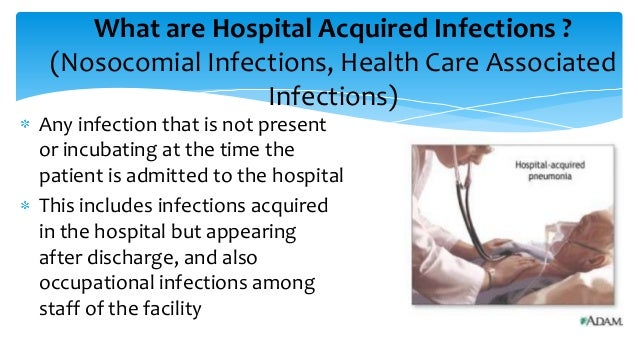 Healthcare associated infections (HCAI): guidance, data and analysis