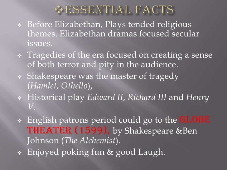 Revenge in Shakespeare's