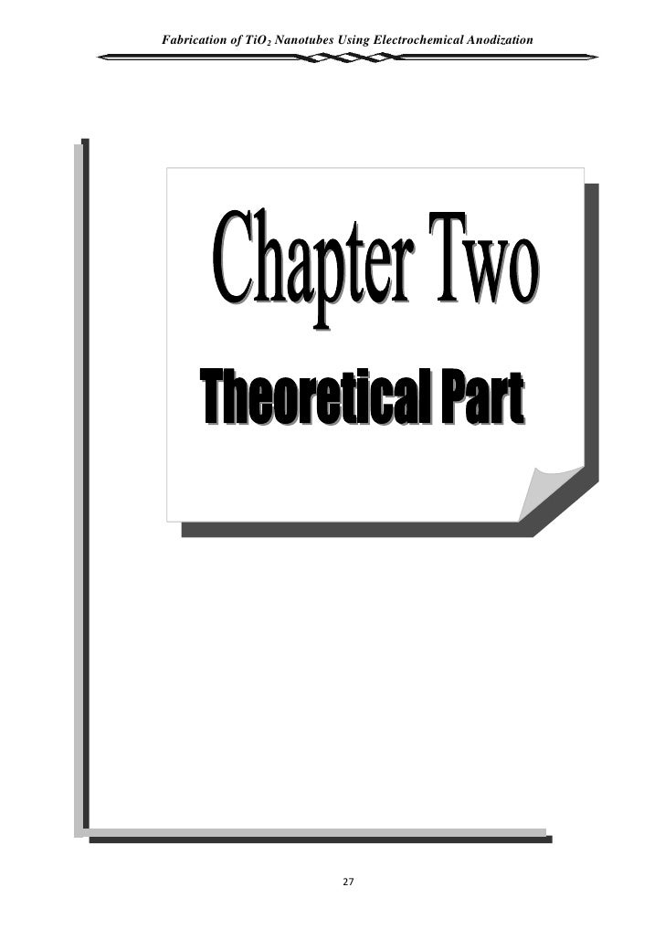thesis on photocatalysis How to write a thesis 1 introduction 1 introduction this is a working guide on writing a thesis it is intended to assist final year and post-graduate students in.