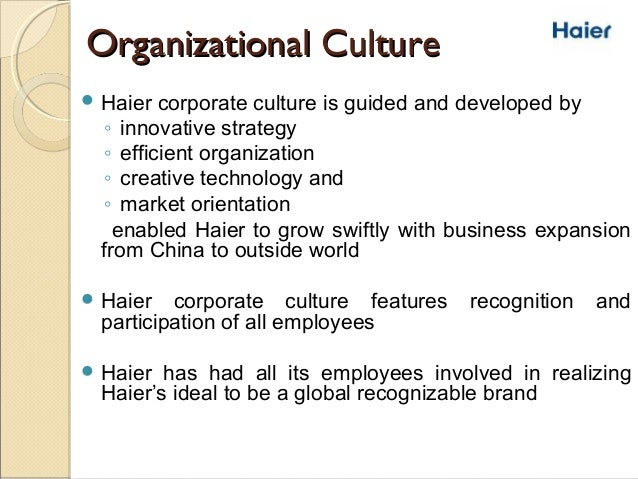 haier taking a chinese company global essay Appreciate the role played by corporate culture in turning companies  haier – the chinese global  it explores the challenges that haier could face in taking.