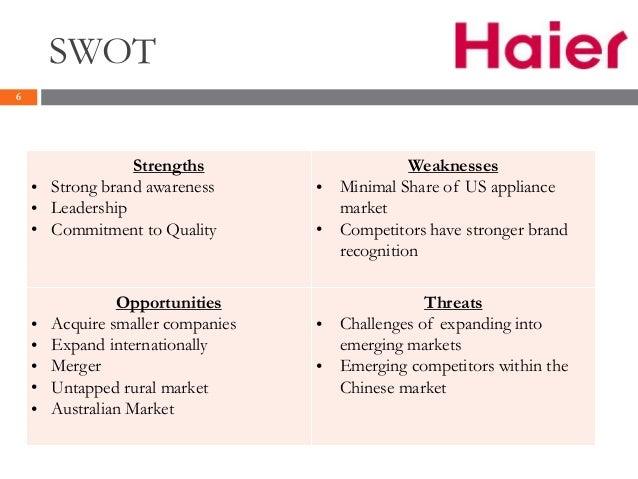 haier case study pdf