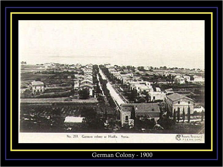 German Colony - 1900