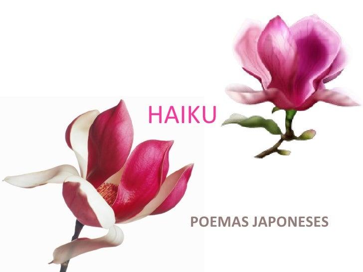 HAIKU POEMAS JAPONESES