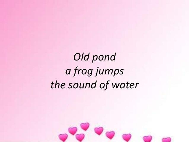 Matsuo Basho (Haiku)