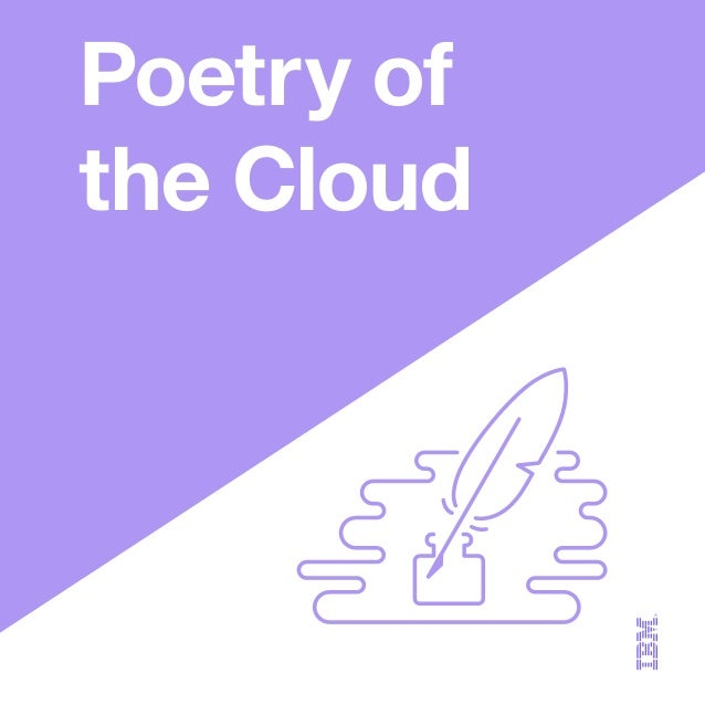 Poetry of the Cloud