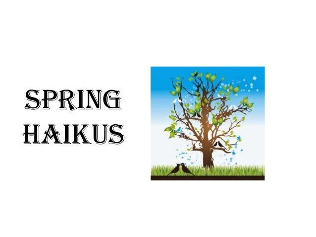 haiku poems about spring - photo #42