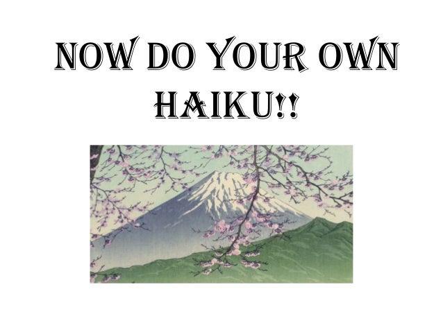 haiku poems about spring - photo #27
