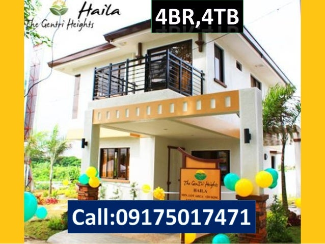 Haila model 4bedrooms 4 Toilet house and lot rush rush for sale in Cavite, 1 ride from Mall of Asia, Very good location to...