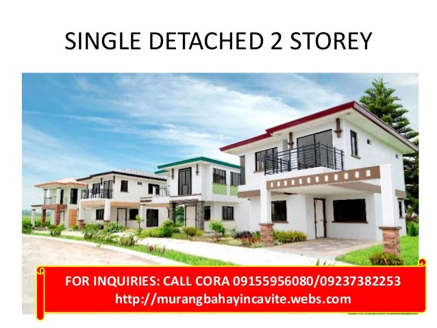 Single detached two storey houses rush rush for sale below 4million p…