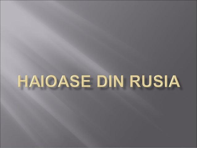 Haioase din rusia