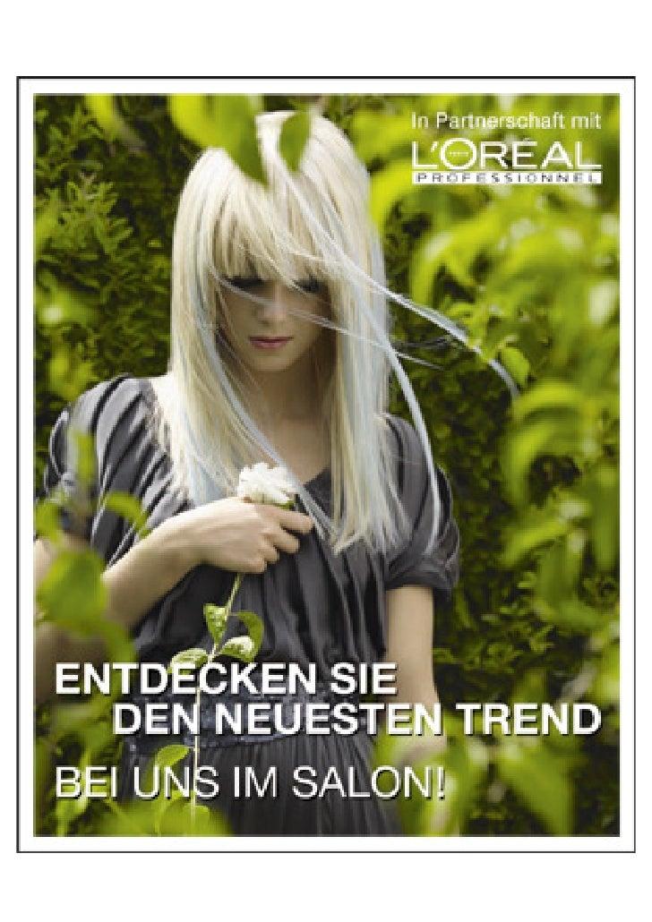 Neue Frisuren bei: Hair Dream der etwas andere Frisuer in Magdeburg,Inoa mehr als Haarfarbe, http://www.inoa-magdeburg.di-...