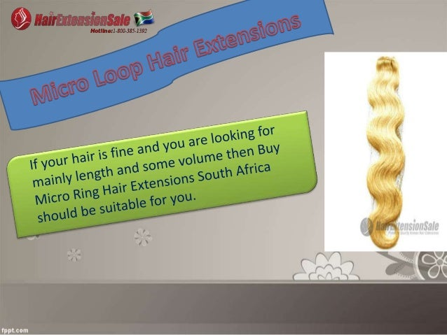 Hair Extensions in South Africa