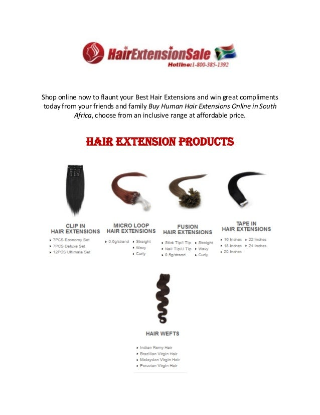 Clip Hair Extensions Online In South Africa