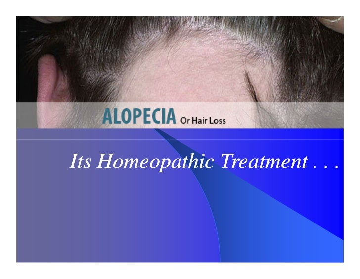 Its Homeopathic Treatment . . .