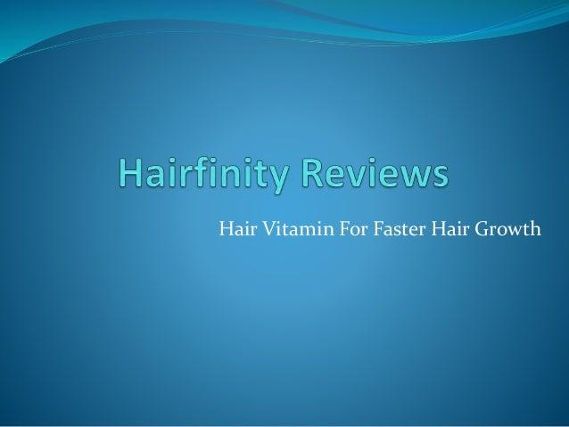 Hair Vitamin For Faster Hair Growth