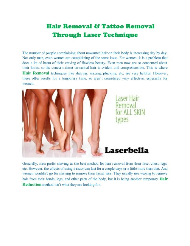 Hair removal tattoo removal through laser technique for Laser hair removal over tattoo