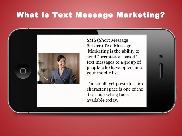 Text Message Marketing For Brands