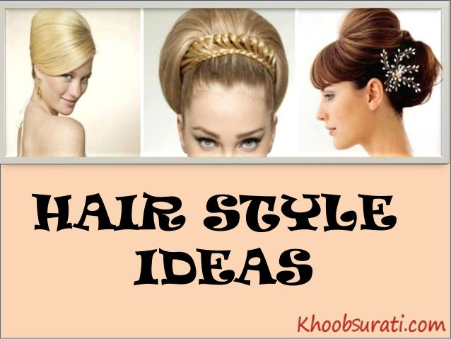 Exclusive Hair style at Khoobsurati slideshare - 웹