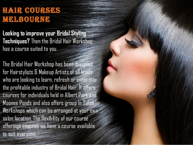 Hair Styling Courses for Makeup Artists Melbourne