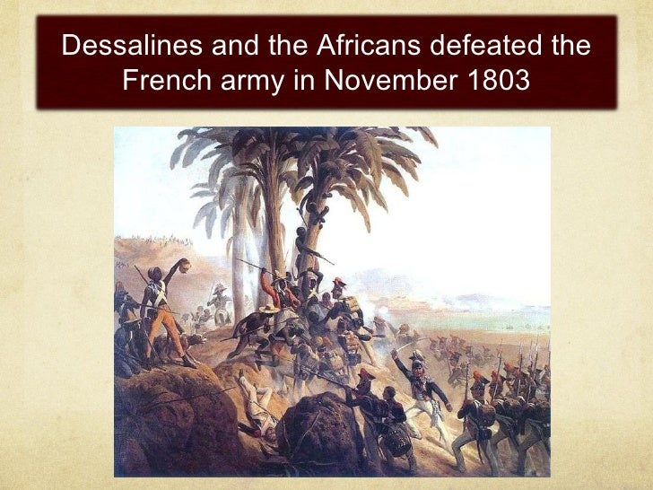 Africans organized  and armed themselves  for freedom <ul><li>Thousands of Maroons liberated territory in Haiti's mountain...