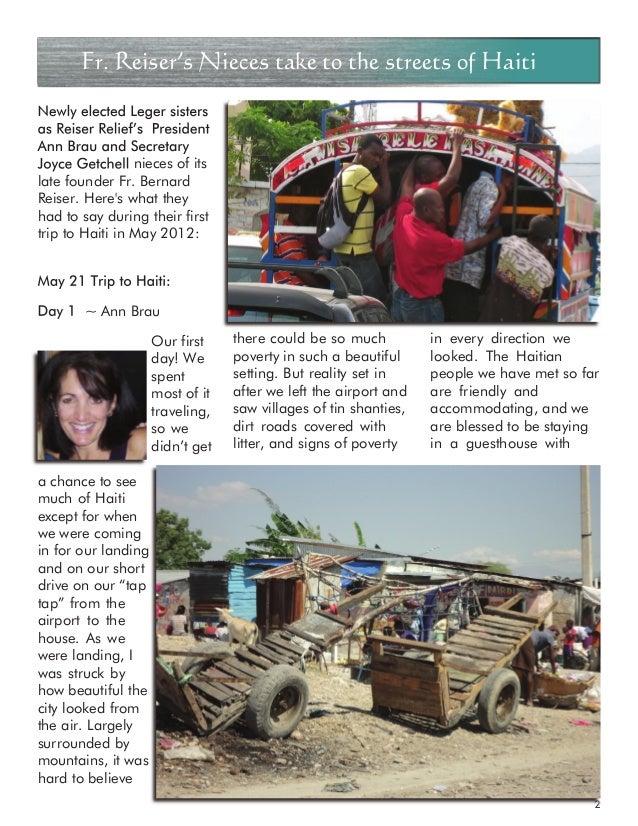 haiti mission trip journal may 2012
