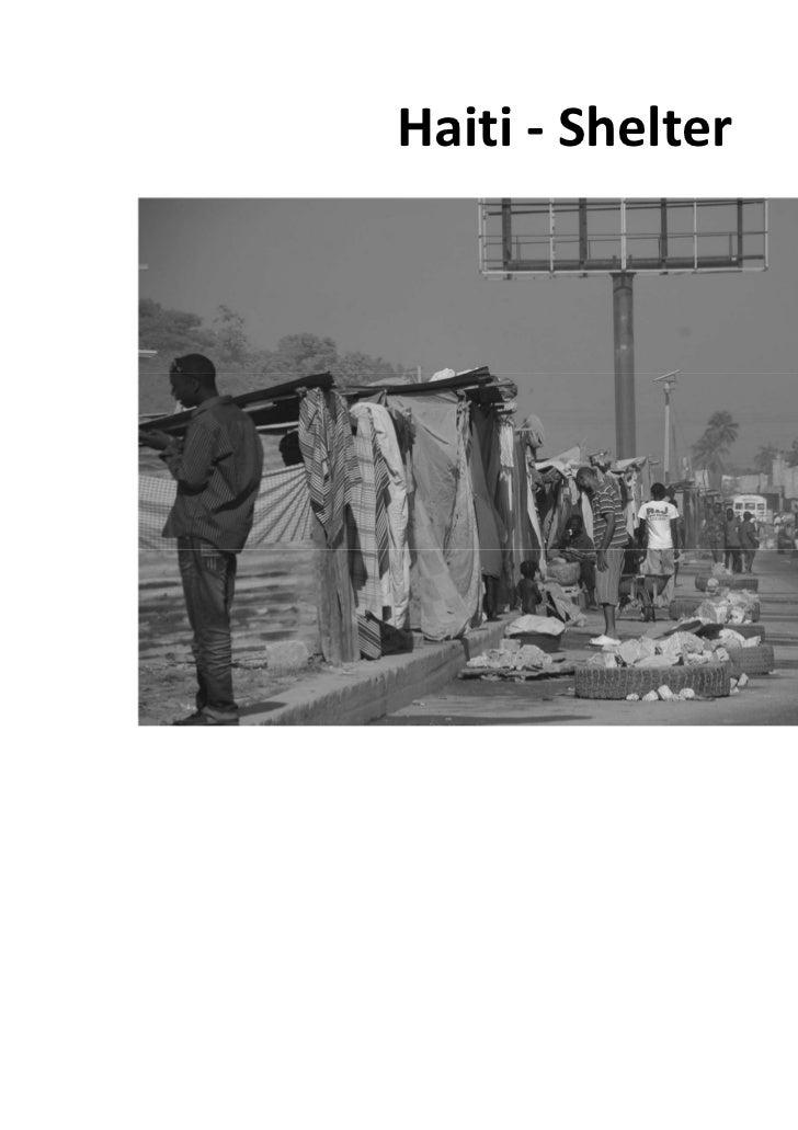 Haiti - Shelter