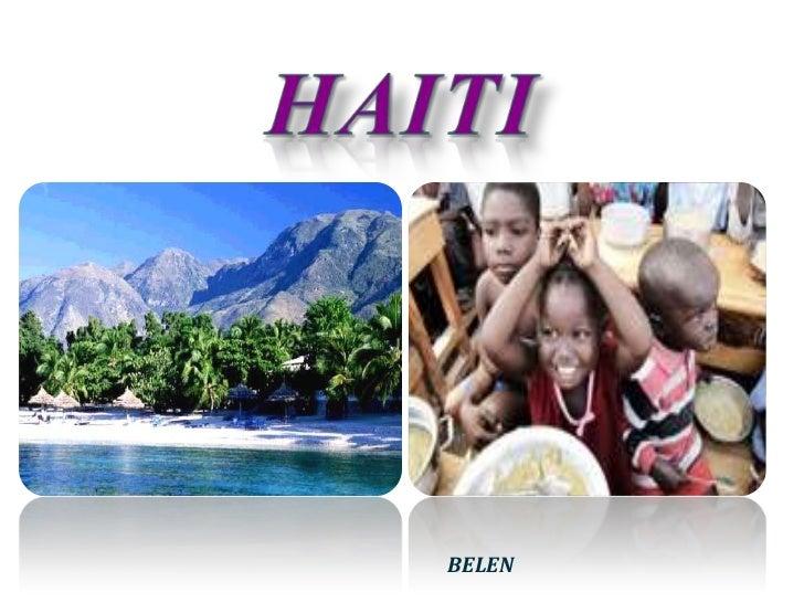 HAITI<br />BELEN<br />